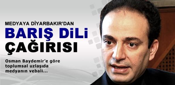 Osman Baydemir'den medyaya barış dili çağrısı