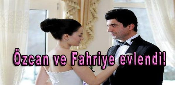 Özcan ve Fahriye evlendi!