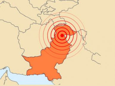 Pakistan 5.4'lük deprem ile sallandı