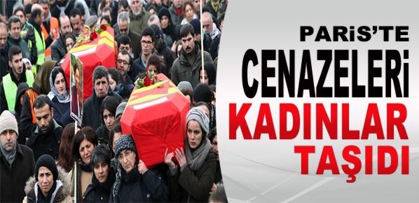 Paris'te cenazeleri bayanlar taşıdı