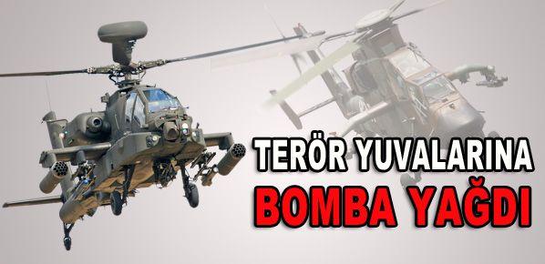 PKK Barınakları bombalandı