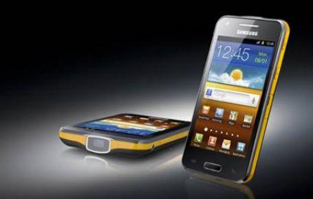 Projektörlü akıllı telefon