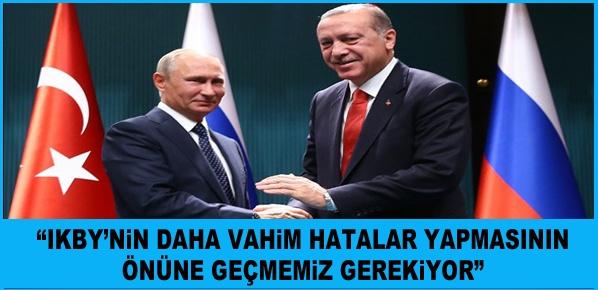 Putin: Cumhurbaşkanı Erdoğan'ın iradesiyle önemli bir başarıya imza attık