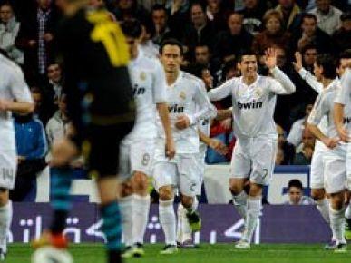 Real Madrid 10 puanlık farkı korudu