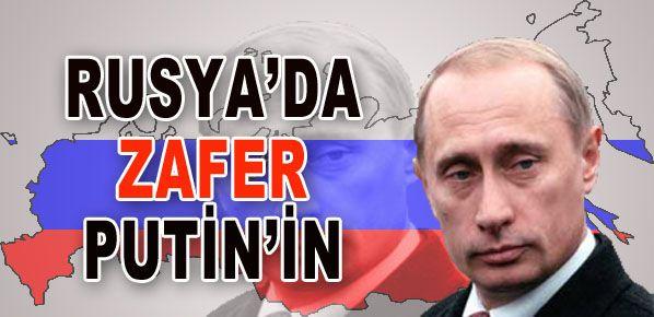 Rus halkı  Putin'den vazgeçmedi