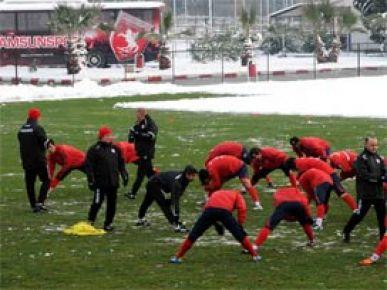 Samsunspor'da Antalyaspor hazırlıkları