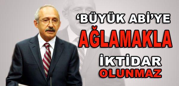 Saydam'dan Kılıçdaroğlu'na makale eleştirisi