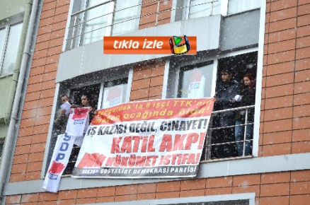 SDP üyeleri MTA'yı işgal etti