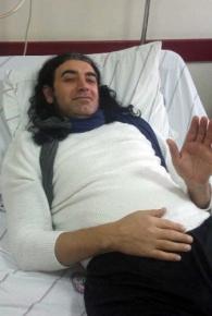 Ses sanatçısı Murat Kekilli hastaneye kaldırıldı