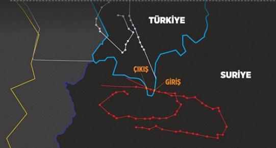 Su 24 tipi uçağın iz analizi Suriye sınırında hava sahası ihlalini ortaya koydu