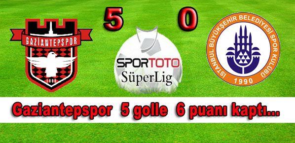 Gaziantepspor güle oynaya kazandı.....