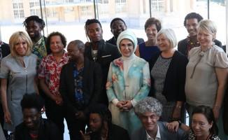 Emine Erdoğan, Brüksel'de Afrika Müzesi'ni ziyaret etti