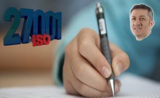 Eğitime ISO 27001 Bilgi Güvenliği Yönetim Sistemi