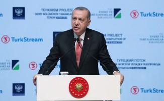 TürkAkım projesi için İstanbul'da tören düzenlendi