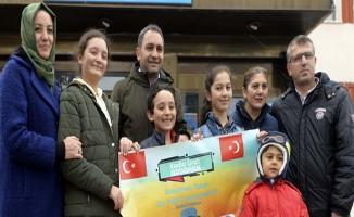 """""""ROBOTHAN"""" Çin'de Türkiye için yarışacak"""