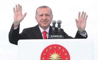 Erdoğan, Samsun'da
