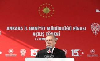 Ankara Emniyet Müdürlüğü yeni binası açılış töreninde konuştu
