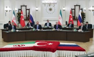 Üçlü Zirve'de Suriye'de sahadaki güncel durumun ele alındı