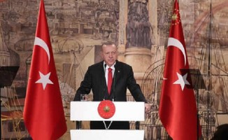Erdoğan, yabancı basın temsilcileri ile bir araya geldi