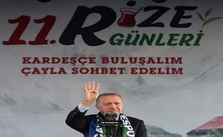 Erdoğan, Rize Tanıtım Günleri'nde