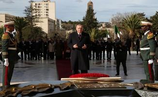 Başkan Erdoğan Cezayir'de