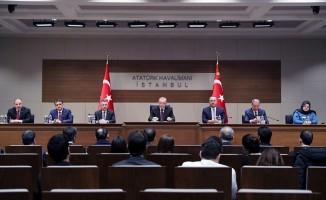 Erdoğan: Felaketin yaralarını birlikte sarıyoruz