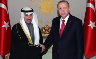 Kuveyt Ulusal Meclis Başkanı El Ganim'i kabul etti