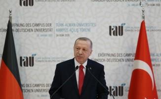 Türk-Alman Üniversitesi açılış töreninde önemli mesajlar