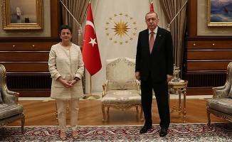 Cumhurbaşkanı Erdoğan, İspanya Dışişleri Bakanı Laya'yı kabul etti