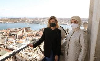 Emine Erdoğan: Ukrayna ve Türkiye arasındaki dostluk bağları daim olsun