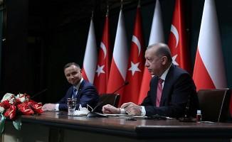 Polonya Cumhurbaşkanı Duda Türkiye'de