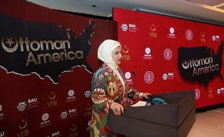 """""""Osmanlı'nın Amerikası"""" belgeseli, ABD'de Emine Erdoğan'ın katılımıyla tanıtıldı"""