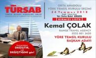 TÜRSAB Orta Anadolu YTK Seçimi yapılıyor.