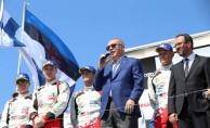 Erdoğan, Dünya Ralli Şampiyonası ödül törenine katıldı