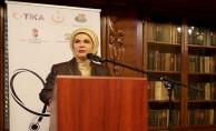 Macaristan Cumhurbaşkanı'nın eşi Anita Herczegh ile görüştü