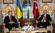 Ukrayna Devlet Başkanı Poroşenko İstanbul'da