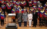 EL SISTEMA Orkestrası'nın konseriyle karşılandı