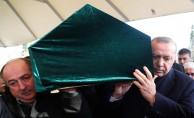 Erdoğan, Kadir Turgut'un cenaze törenine katıldı