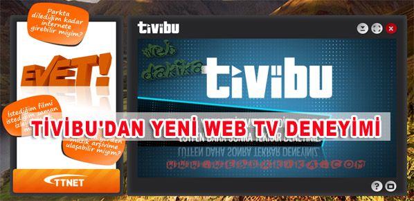 Tivibu'dan yeni Web TV deneyimi