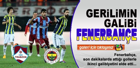 Trabzon'daki Gerilimde Fenerbahçe kazanmasını bildi