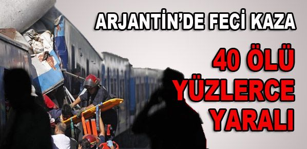 Tren Kazası: 40 Ölü 550 Yaralı