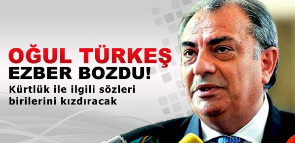 Türkeş: Ne mutlu Kürdüm demenin sakıncası yok