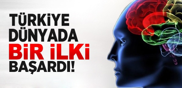 Türkiye dünyada bir ilki başardı