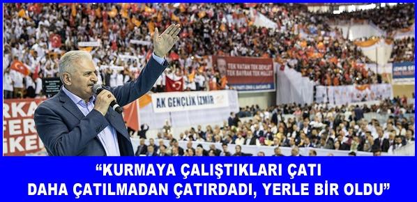 Türkiye düşmanlarına asla ve asla itibar etmeyin