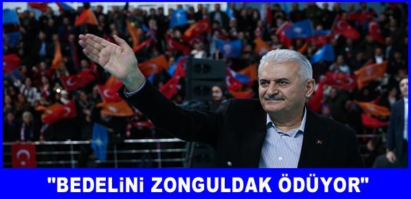 Türkiye'nin büyük yatırımlarını Zonguldak'a yapıyoruz
