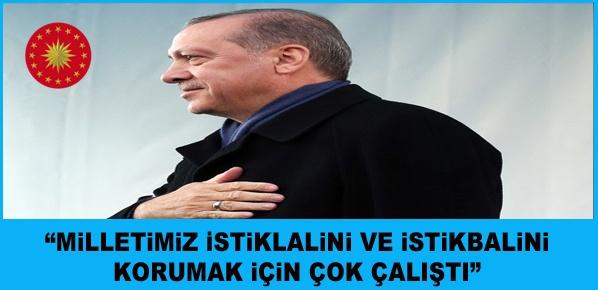 Türkiye'yi karanlık günlerinden aydınlığa çıkarttık