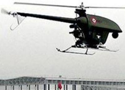 Uçakla helikopter çarpıştı