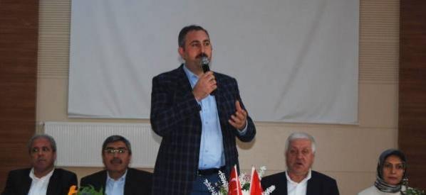 Abdulhamit Gül,  Vatandaşımızın huzuru için çalışıyoruz