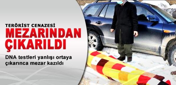 Yanlış PKK'lı cenazesi teslim edilmiş!