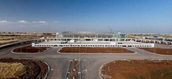 Yeni terminalde sona doğru